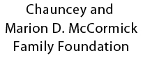Chauncey and Marion Deering McCormick Family Foundation logo