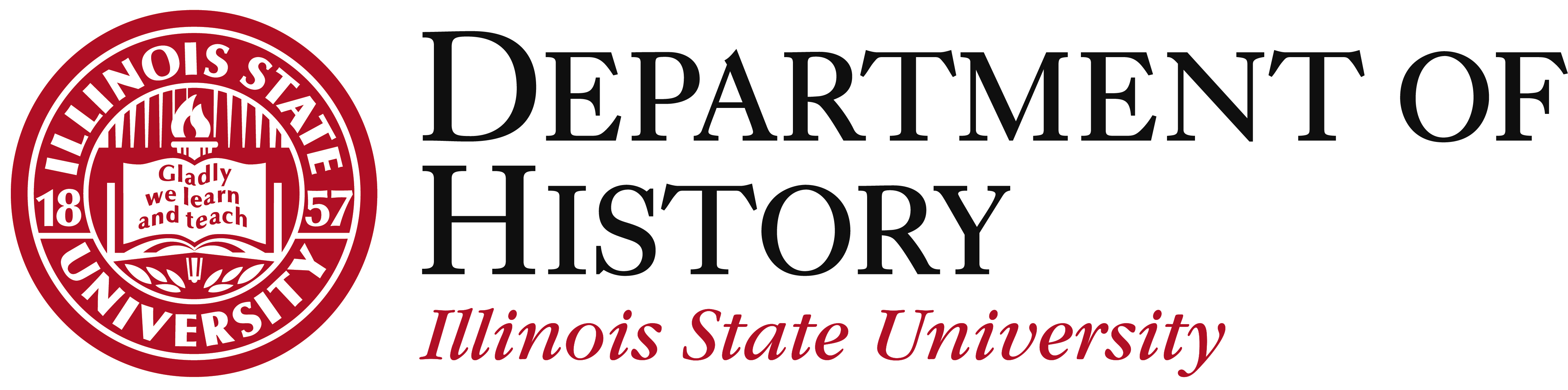 Illinois State University Department of History Logo Seal