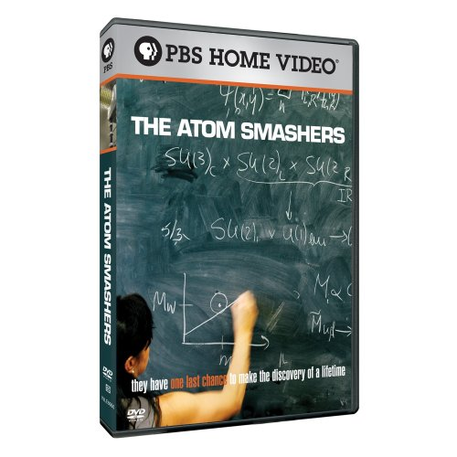 The Atom Smashers DvD cover