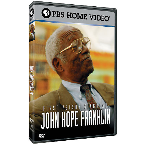 First Person Singular: John Hope Franklin DvD cover