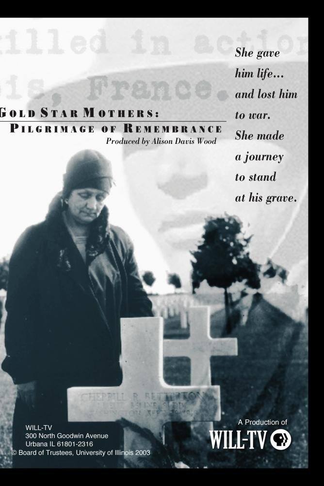 Gold Star Mothers: A Pilgrimage of Remembrance DvD cover