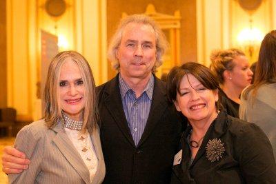 Judy, Howard, and Deborah at the 2015 PHA