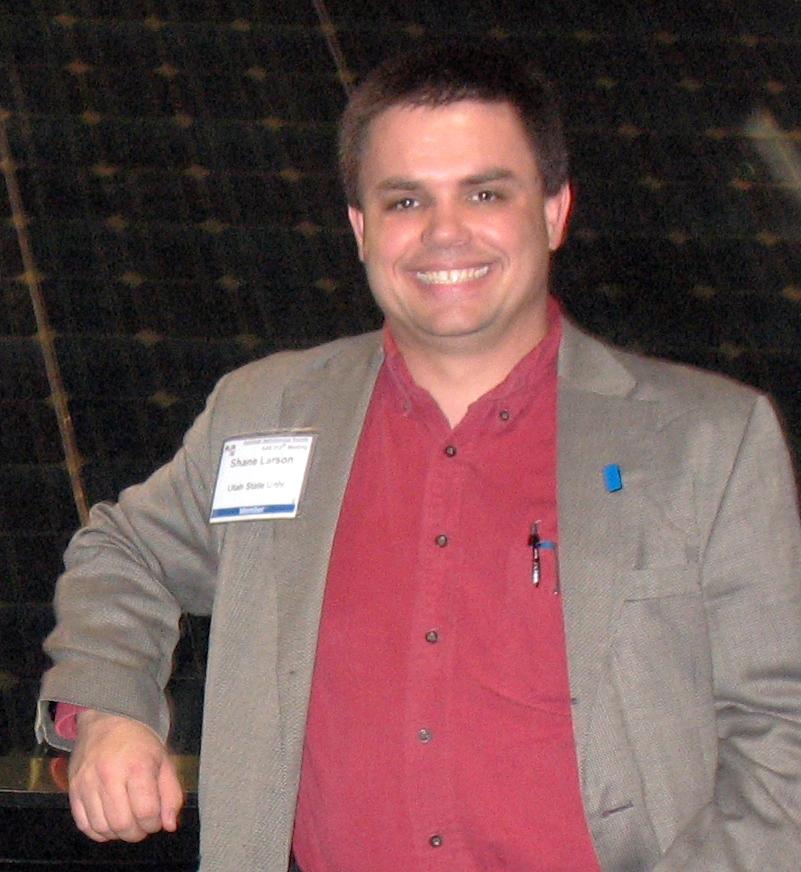 astrophysicist Shane Larson