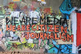 Citizen Journalist graffiti