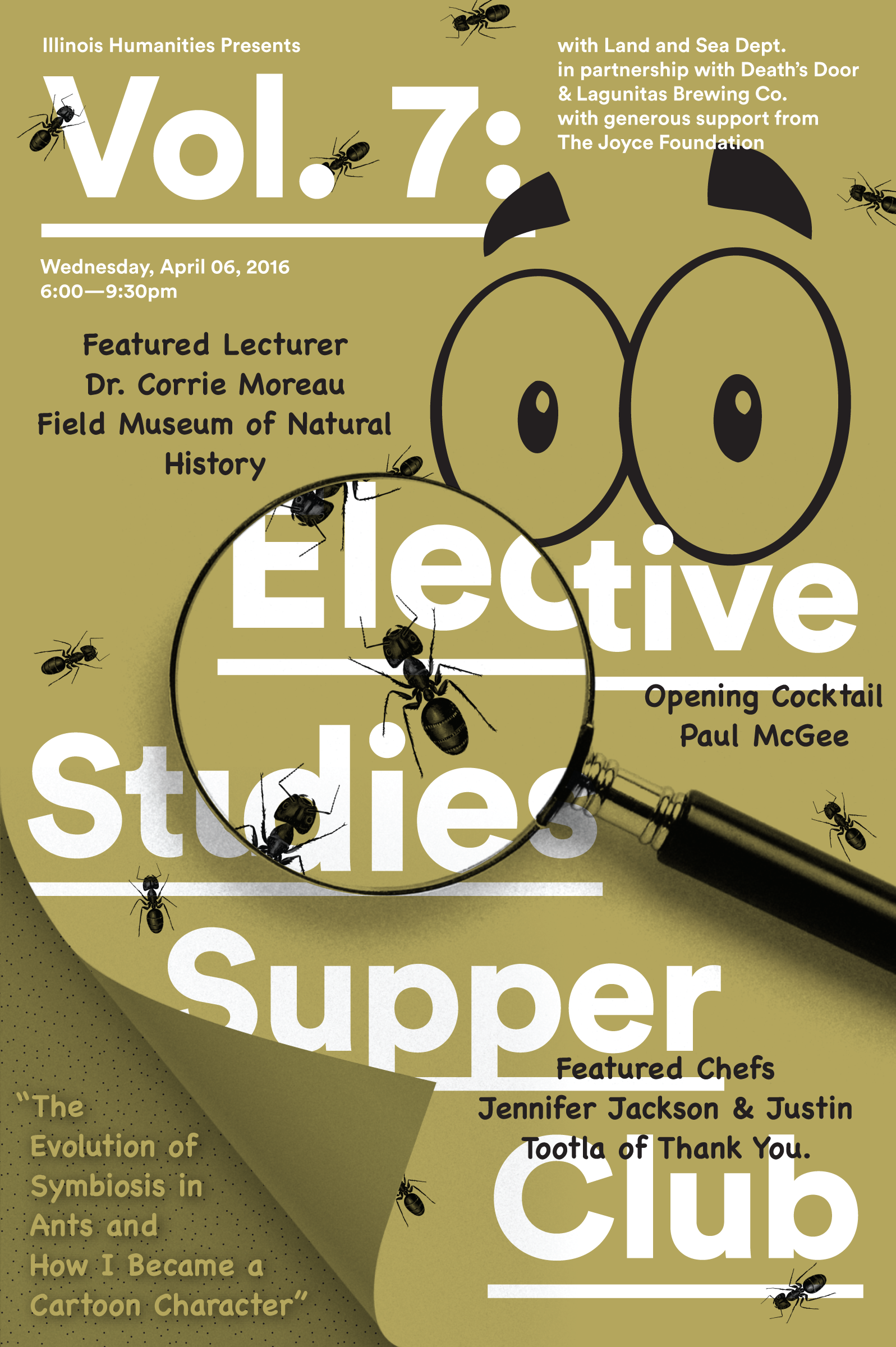 Supper Club Vol-7 with Corrie Moreau Poster