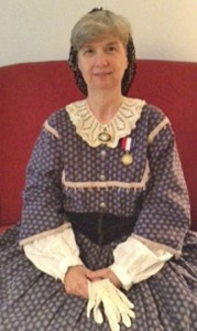 Barbara Kay as Clara Barton