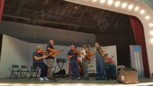 Old Time Fiddlers play in Shelbyville