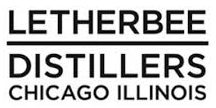 Letherbee Distillers Chicago logo