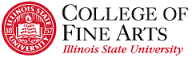 College of Fine Arts Illinois State University logo