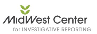 Midwest Center for Investigative Reporting - MCIR - logo