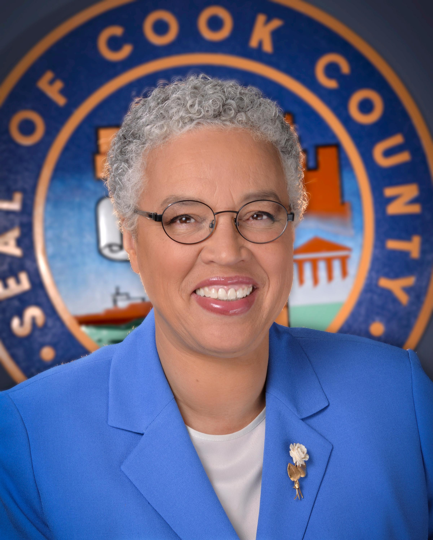 Toni Preckwinkle: Cook County Board President