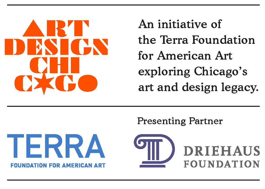 Art Design Chicago-Terra Foundation for American Art-Driehaus Foundation logos