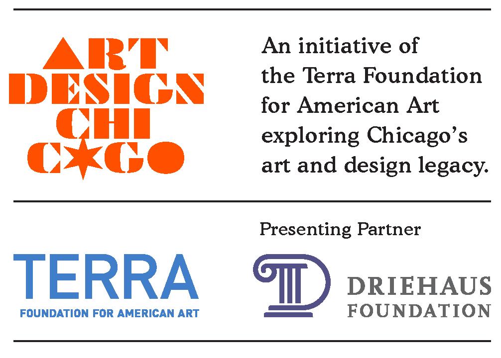 Art Design Chicago-Terra Foundation for American Art-Driehaus Foundation logos