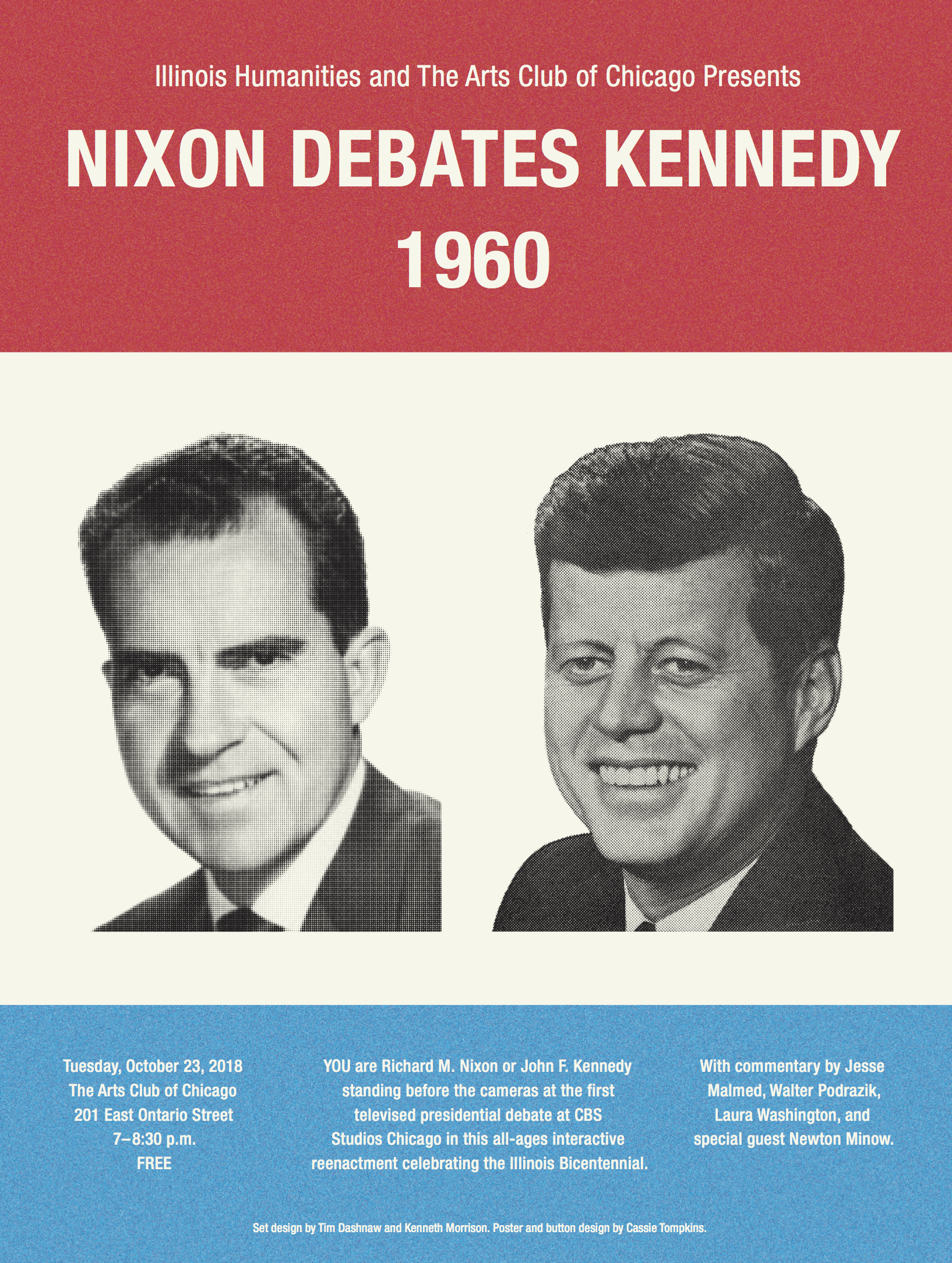Nixon Debates Kennedy Poster