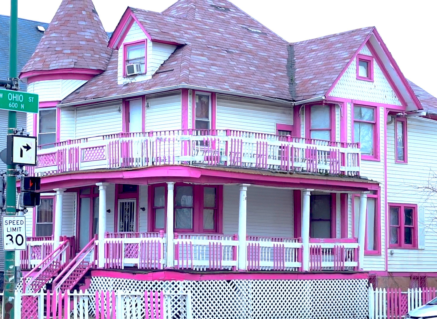 Victorian home of Yolanda Anderson built in 1894