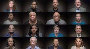 Witnesses from We Art Witness series produced by The Marshall Project