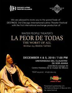 Destinos Sor Juana Poster
