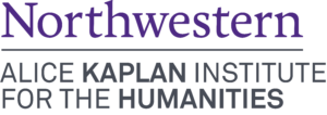 Alice Kaplan Institute for the Humanities Northwestern University logo