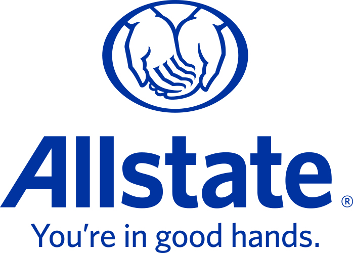 2021 Allstate vertical logo with tagline