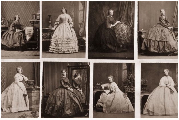 Images of 19th century Fashions