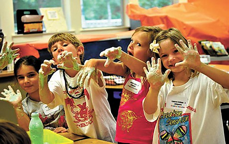 From Creation Sensation Camp in Covington